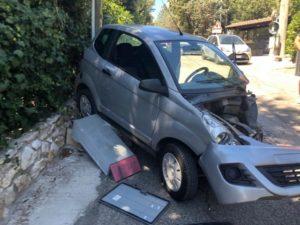 automobili colle della trinità incidente ospedale santa maria della misericordia scontro cronaca