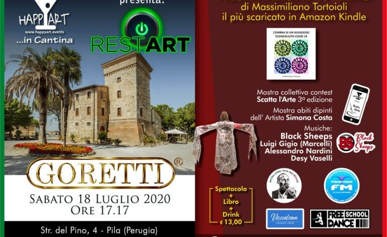 covid 19 estate eventi happy art massimiliano tortoioli restart eventiecultura