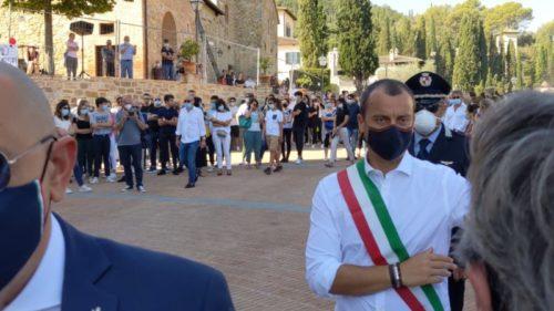 carlotta martellini esequie funerale solomeo cronaca solomeo