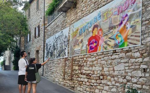 arte corciano festival Gabriele Perretta Medialismi 2.0'2.0 mostra diffusa corciano-centro eventiecultura
