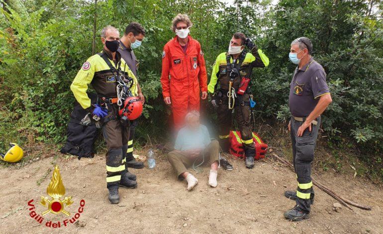 Ritrovato uomo scomparso a Corciano, intervenuto elicottero dei vigili del fuoco