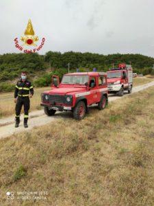 elicottero ricerche scomparso vigili del fuoco cronaca