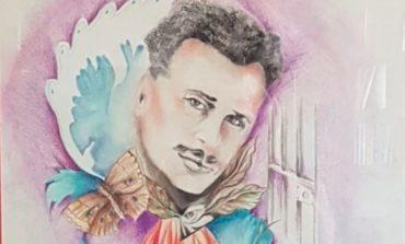 Agende Rosse, la mantignanese Giuliana Capocchia dona un dipinto alla famiglia di Umberto Mormile