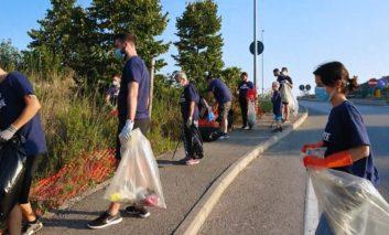 """Nuova raccolta """"Plastic Free"""": via da San Mariano più di 150 kg di rifiuti"""