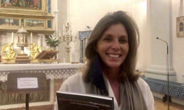 La direttrice dei Musei Vaticani in visita alla Pala del Perugino