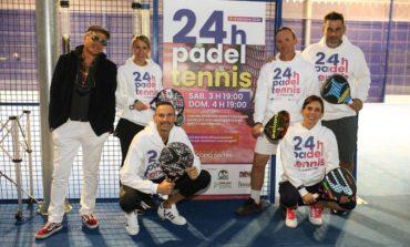 Successo per la 24 ore Padel e Tennis, la maratona di sport e solidarietà