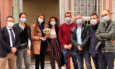 Visita istituzionale del viceministro Anna Ascani, fatto il punto sui lavori all'Istituto Bonfigli