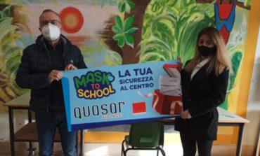 """""""Mask to School"""", successo per l'iniziativa dedicata ai bambini e le loro famiglie"""