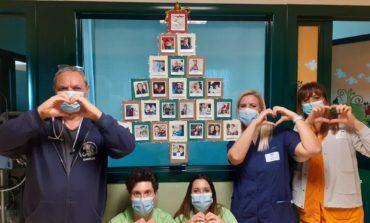 Le foto di ex piccoli pazienti decorano la terapia intensiva neonatale dell'Ospedale di Perugia