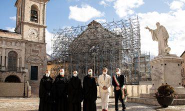 Norcia: torna a nuova vita la Torre Campanaria grazie al sostegno del gruppo Cucinelli