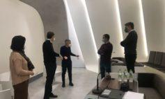 Visita istituzionale alla Sterling spa per presentazione nuovo auditorium