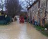Pioggia, malfunzionamento dell'invaso: il torrente Caina rompe gli argini
