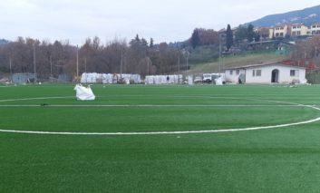 Sport, in arrivo a Ellera il campo in erba sintetica