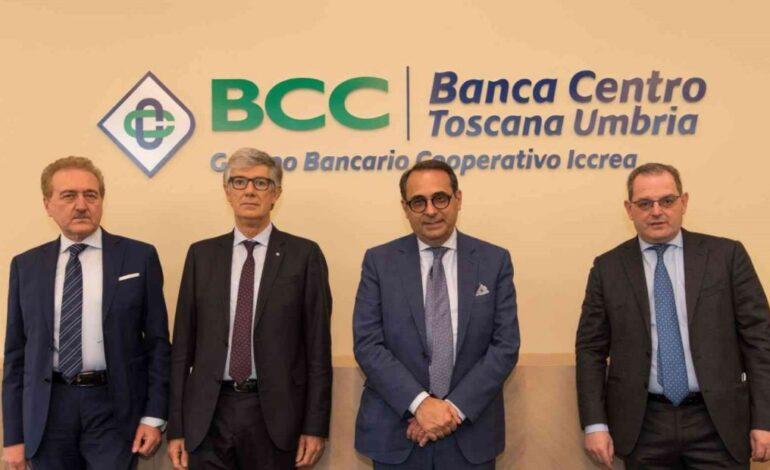 banca bcc bilancio economia toscana umbria economia