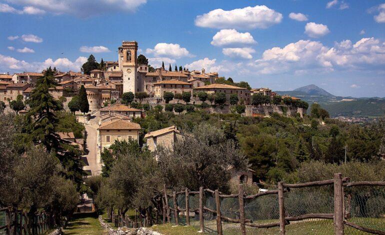 """Corciano, portabandiera dell'Umbria, è nella top ten de """"Il Borgo dei borghi"""""""