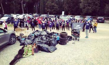 Liberi dalla plastica: fra Perugia e Corciano raccolti 600 kg di rifiuti
