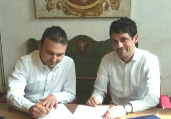 accordo andrea romizi comuni confine lorenzo pierotti perugia sindaco vicensindaco cronaca