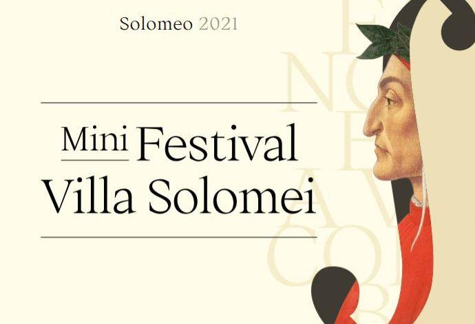 """Spettacoli: edizione ancora """"mini"""" per il Festival Villa Solomei"""