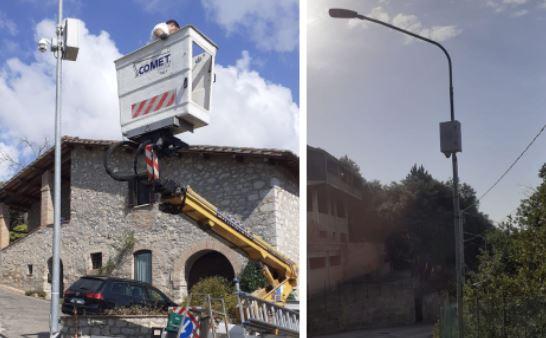 Sicurezza, il comune di Perugia installa due telecamere utili anche ai corcianesi
