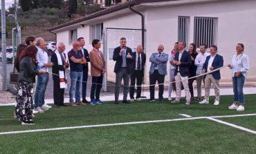Sport, inaugurato a Ellera il nuovo campo in erba sintetica